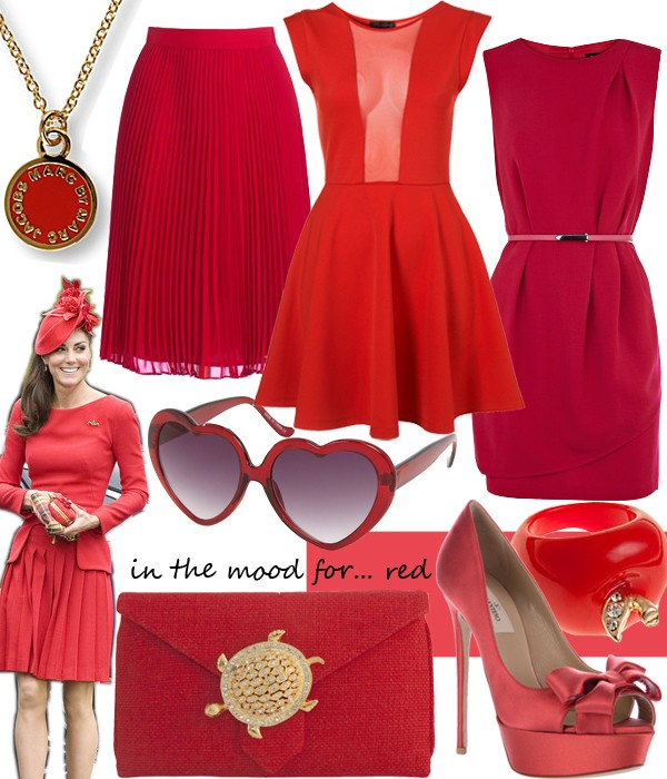 We're relishing the royal red!