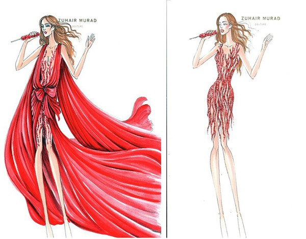First look at Jennifer Lopez's Zuhair Murad tour wardrobe