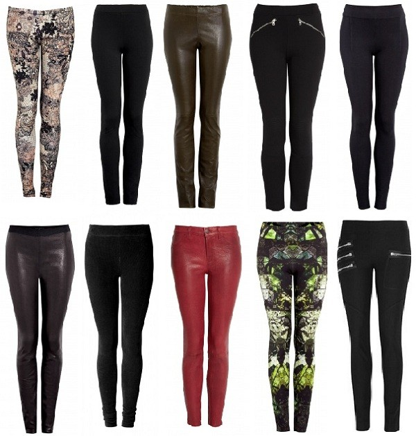 Bored with jeans? Try these leggings!