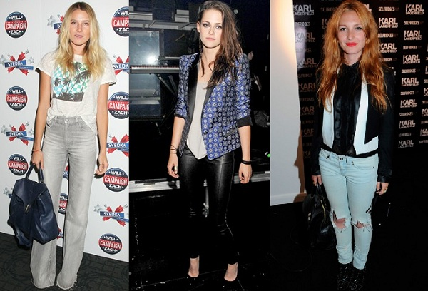 Rate or Slate Dree Hemingway, Kristen Stewart and Josephine de la Baume's style efforts?