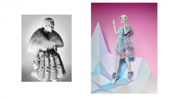 Alexander McQueen gets futuristic for the autumn/winter 2012 ad campaign
