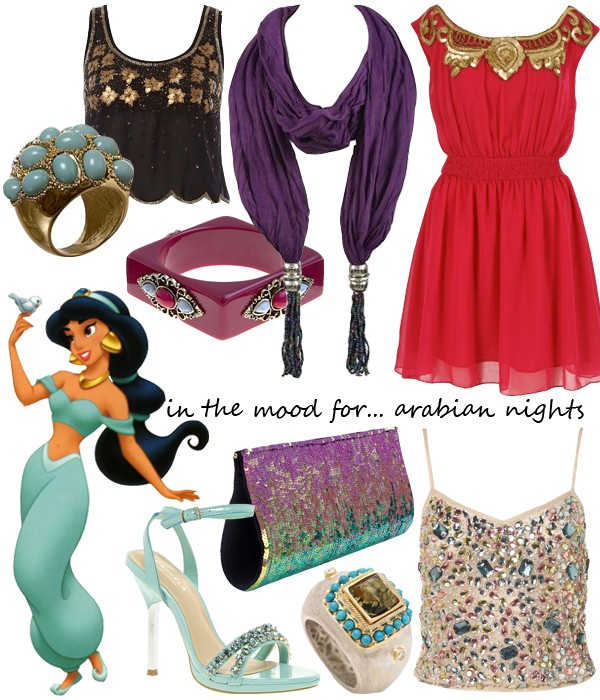 Midweek Moodboard: Arabian Nights