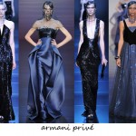 Armani Privé and Chanel's Haute Couture AW12 shows