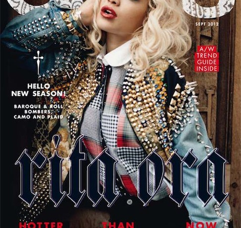Rita Ora is ASOS magazine's September cover girl
