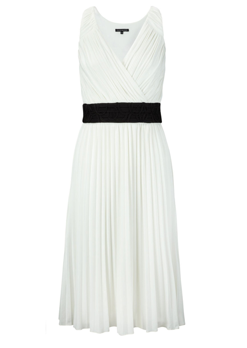 Lunchtime Buy: David Emanuel pleated dress