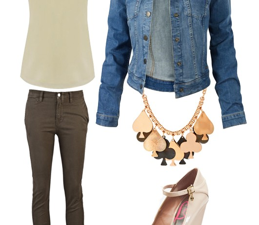 Three ways to wear the denim jacket