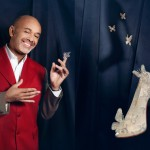 Christian Louboutin unveils his Cinderella shoe design!