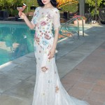 Dita von Teese is perfect in Jenny Packham for Cointreau