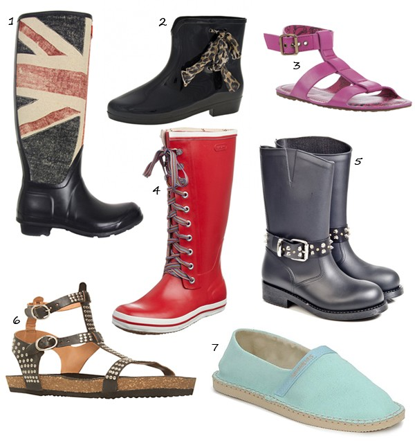 7 fashionable festival shoes