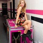 Georgia May Jagger goes rock chick for Material Girl ads
