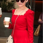 Ginnifer Goodwin turns up the heat in Valentino and Mulberry