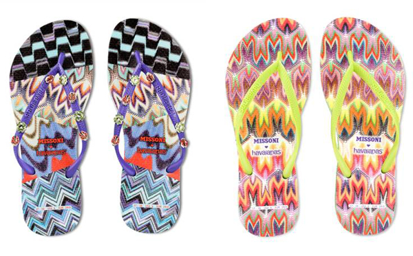 Missoni teams up with Havaianas for another collection