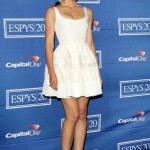 Jessica Biel wows in white at the ESPY Awards