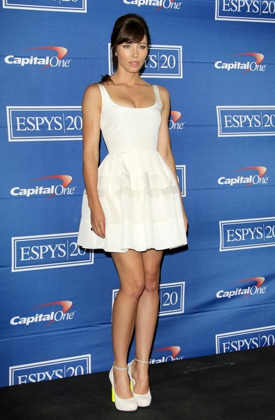 jessica biel espy awards