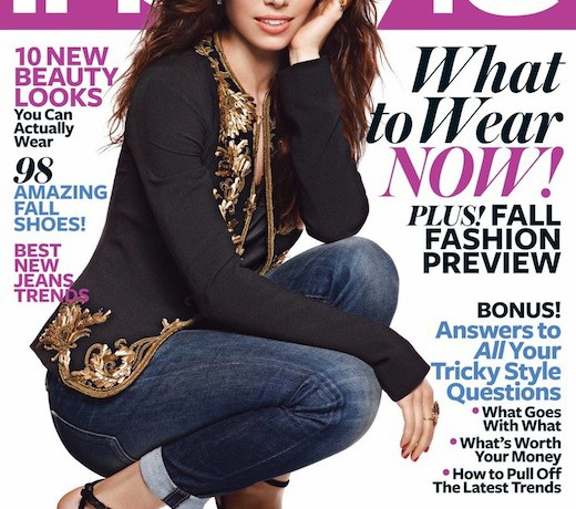 Jessica Biel fronts InStyle US August issue, talks about Justin Timberlake giving her style advice