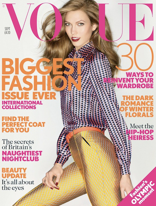 Karlie Kloss for British Vogue's September issue… yay or nay?