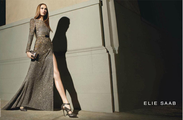 Karlie Kloss stuns for Elie Saab autumn/winter 2012