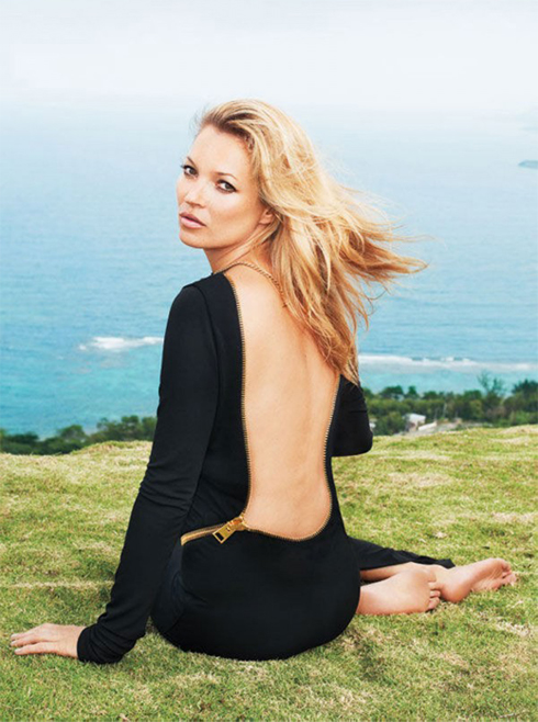 Proof that there really is only one Kate Moss!