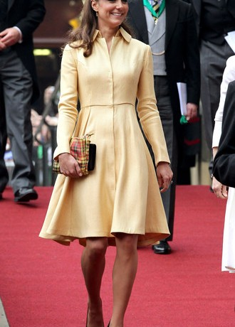 Kate Middleton wears bespoke Emilia Wickstead for Thistle Service