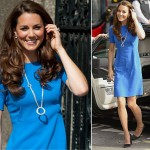 Kate Middleton kicks off the Olympic Games in blue Stella McCartney