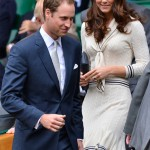 Kate Middleton wears Alexander McQueen to watch Andy Murray at Wimbledon