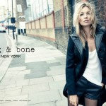 Kate Moss poses for Rag & Bone's first ever ad campaign in London