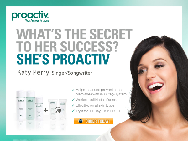 ASA bans Katy Perry and Justin Bieber Proactiv ads