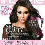 Kim Kardashian smoulders for InStyle UK's August issue