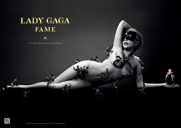 First Look: Lady Gaga's Fame perfume ad campaign