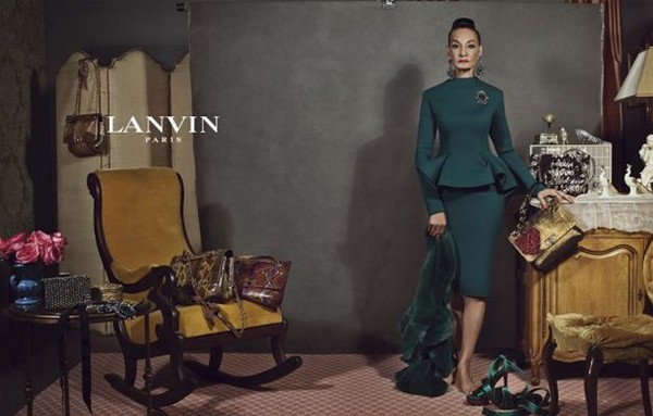 Here's why Alber Elbaz didn't use models for his latest Lanvin ad campaign…