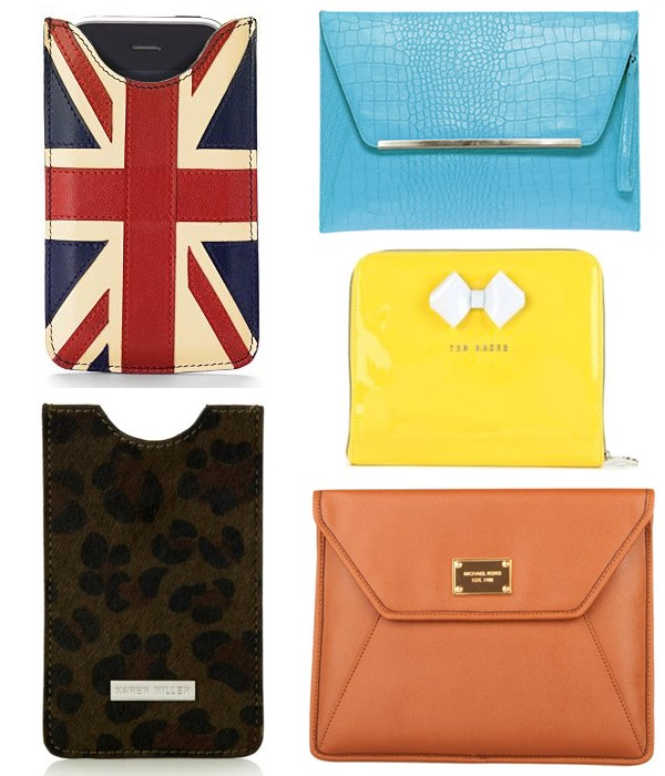 Five of our fave laptop, iPad and iPhone cases
