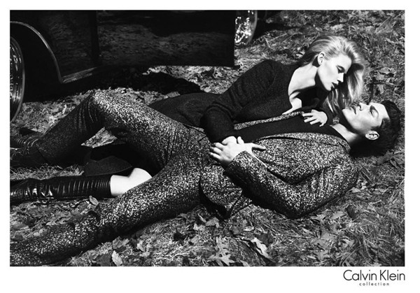 Lara Stone returns for Calvin Klein's ad campaigns