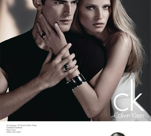 Lara Stone's CK Calvin Klein watch and jewellery ads are here!