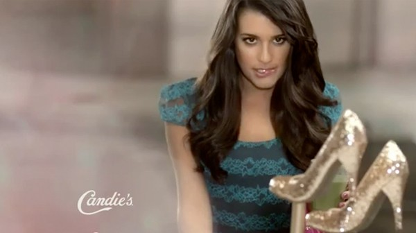 Lea Michele is back for Candie's autumn/winter campaign