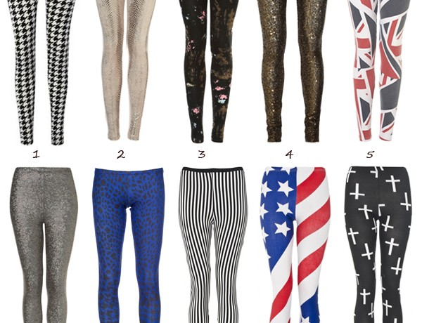 Top ten funky leggings
