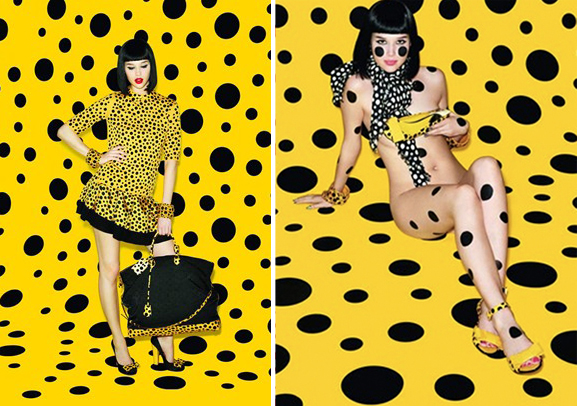 Peek the Yayoi Kusama for Louis Vuitton collection here
