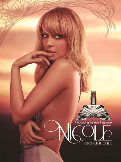 Nicole Richie's first fragrance ad is here!