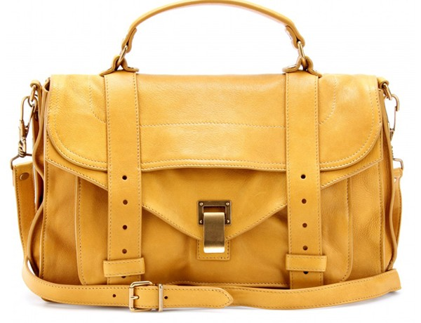 We can't get enough of Proenza Schouler's mustard PS1!