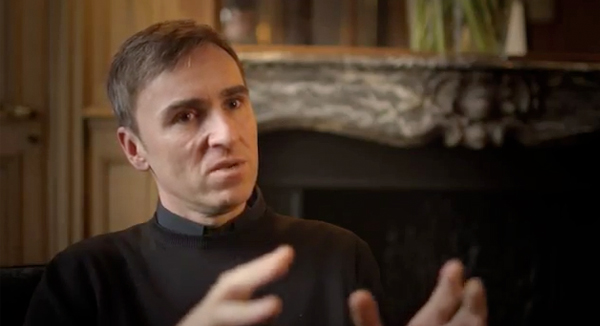 WATCH Raf Simons talk about his Christian Dior collection