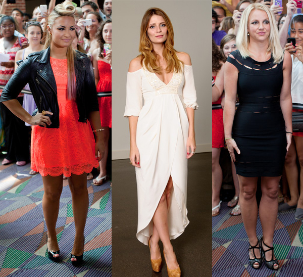 Rate or Slate: Demi Lovato, Mischa Barton and Britney Spears