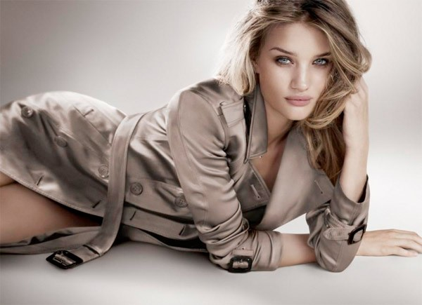 Rosie Huntington Whiteley returns for Burberry Body