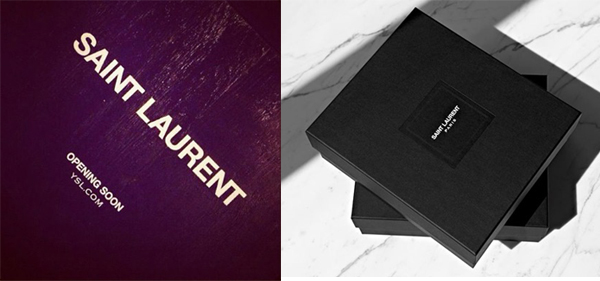 What do you make of the new Yves Saint Laurent logo?