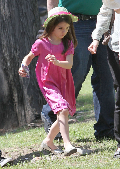 Could Suri Cruise soon be dressing like every other six year old girl?
