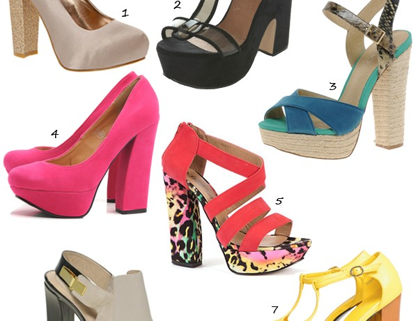 Seven killer (but comfy) summer chunky heels