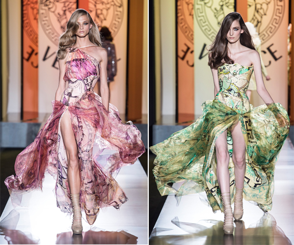 Inside the Atelier Versace Couture show