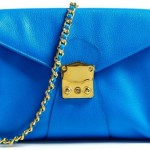 Buy of the week – Electric Blue 'The Clutch' With Gold Plated Chain Strap by AILA