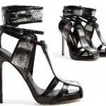 Buy of the Week – T-Bar Panel Snakeskin Stiletto Cage Sandals by Camilla Skovgaard