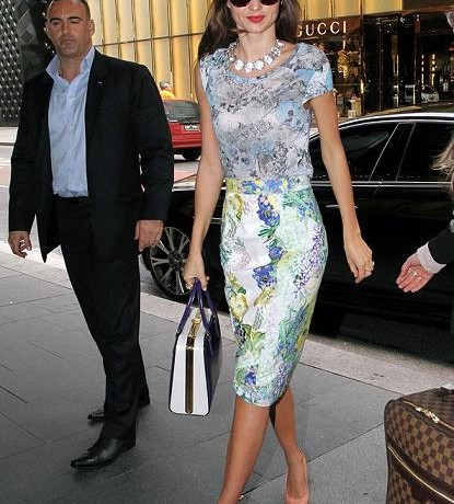 Miranda Kerr scoops Best Dressed of the Week in Erdem