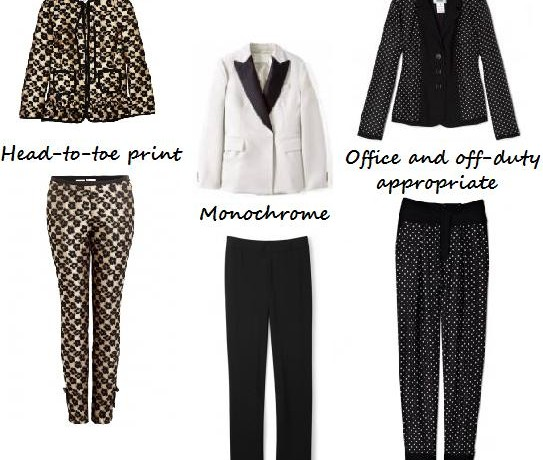 How to wear fashion's new love affair – The Trouser Suit
