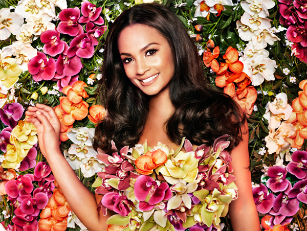 Alesha Dixon wears a 'Sweet Smile' for Impulse